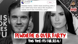 SJW Are Mad At Pewdiepie Over Demi Lovato Meme - L OF THE DAY