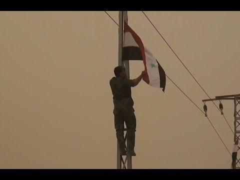 Tour of the liberated Al Bukamal   November 2017   Syria