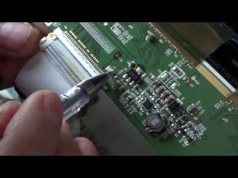 матрица m216h1 l01 полосы на экране