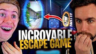 Incroyable !! Personne n'y avait pensé... Portal Escape Game avec Michou sur Fortnite Créatif !
