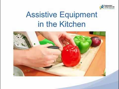 Assistive Equipment In The Kitchen (Independent Living Centre WA)