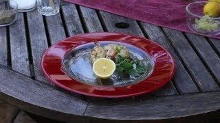 Grilled Mediterranean Shrimp : BBQ Grilling Tips