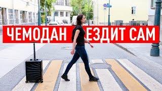 Самоходный умный чемодан за 100 000р.