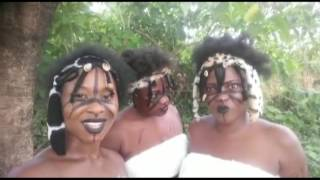 Scary Nollywood female warriors in the jungle