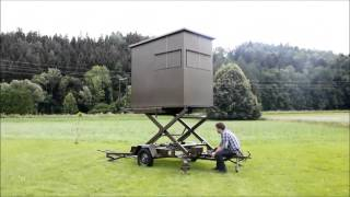 jagdkanzel selber bauen. Black Bedroom Furniture Sets. Home Design Ideas