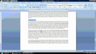 Como fazer um Índice Automático no Microsoft Word thumbnail