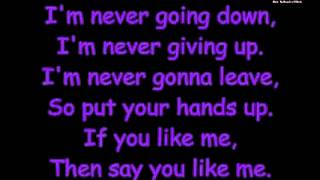 Say You Like Me - By We the kings - with lyrics