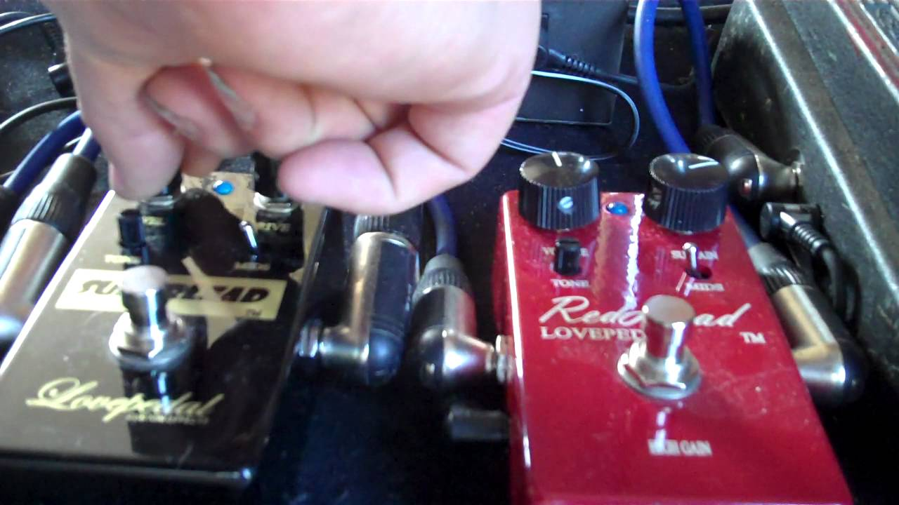 Lovepedal Superlead V S Redhead One And The Same Youtube
