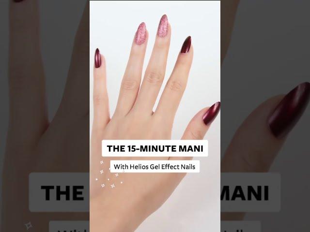 Shoppers Drug Mart - Helios Gel Effect Nails - Hand Model Canada