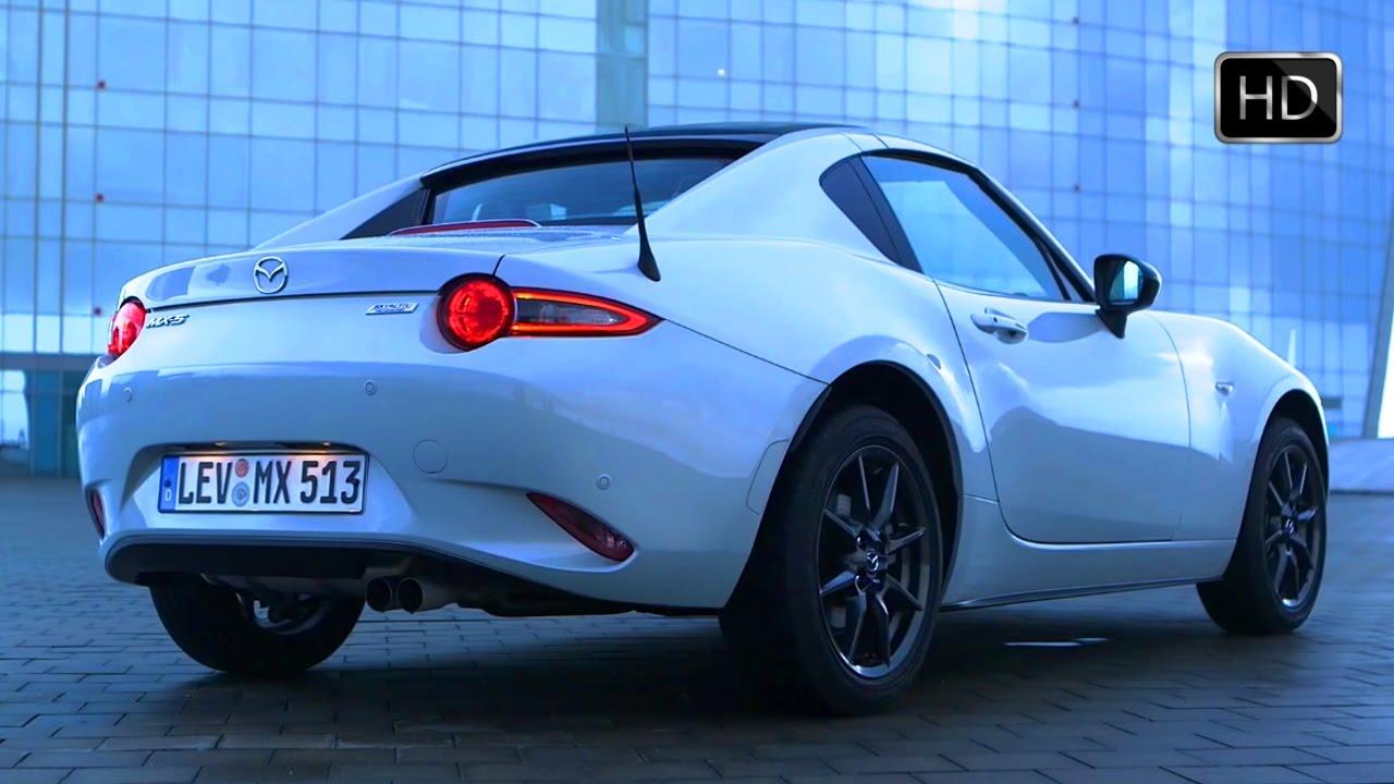 2017 Mx 5 Rf >> 2017 Mazda MX-5 Miata RF 1.5 Skyactiv-G Ceramic White Design & Driving Footage HD - YouTube