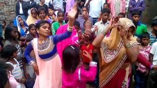 New Indian Desi Shadi Dance On Bhojpuri Band baja 2017