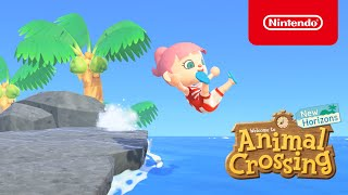Summer update coming July 3rd to Animal Crossing: New Horizons! (Nintendo Switch)