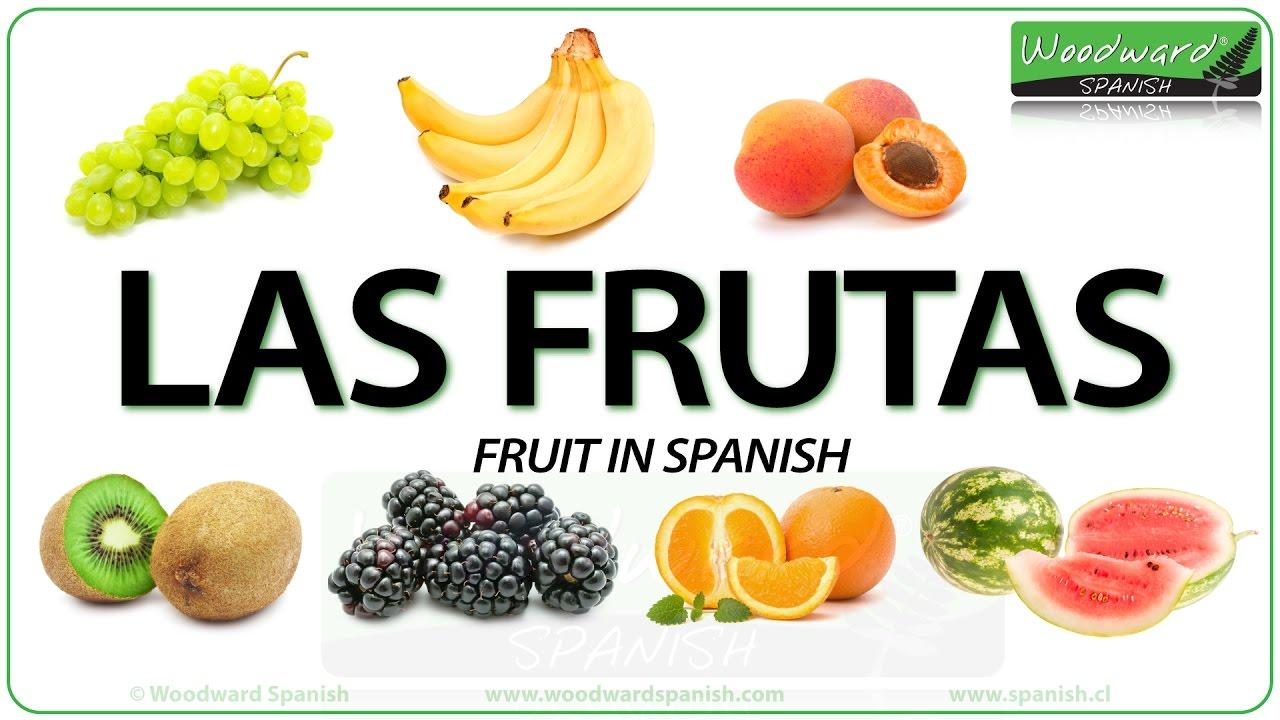 Name Verdura: Fruit In Spanish