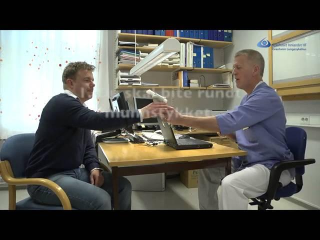 Instruksjonsfilm for spirometri