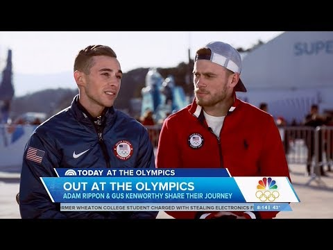 Adam Rippon & Gus Kenworthy Today Show Olympic Interview | LIVE 2-23-18