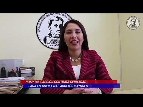 HOSPITAL CARRIÓN FORTALECE EL SERVICIO DE GERIATRÍA