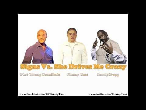 Snoop Dogg Vs. Fine Young Cannibals - Signs Drive Me Crazy (Timmy Tass Mashup)