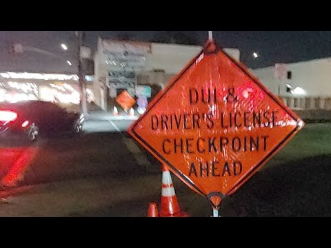 DUI Checkpoint In South Los Angeles