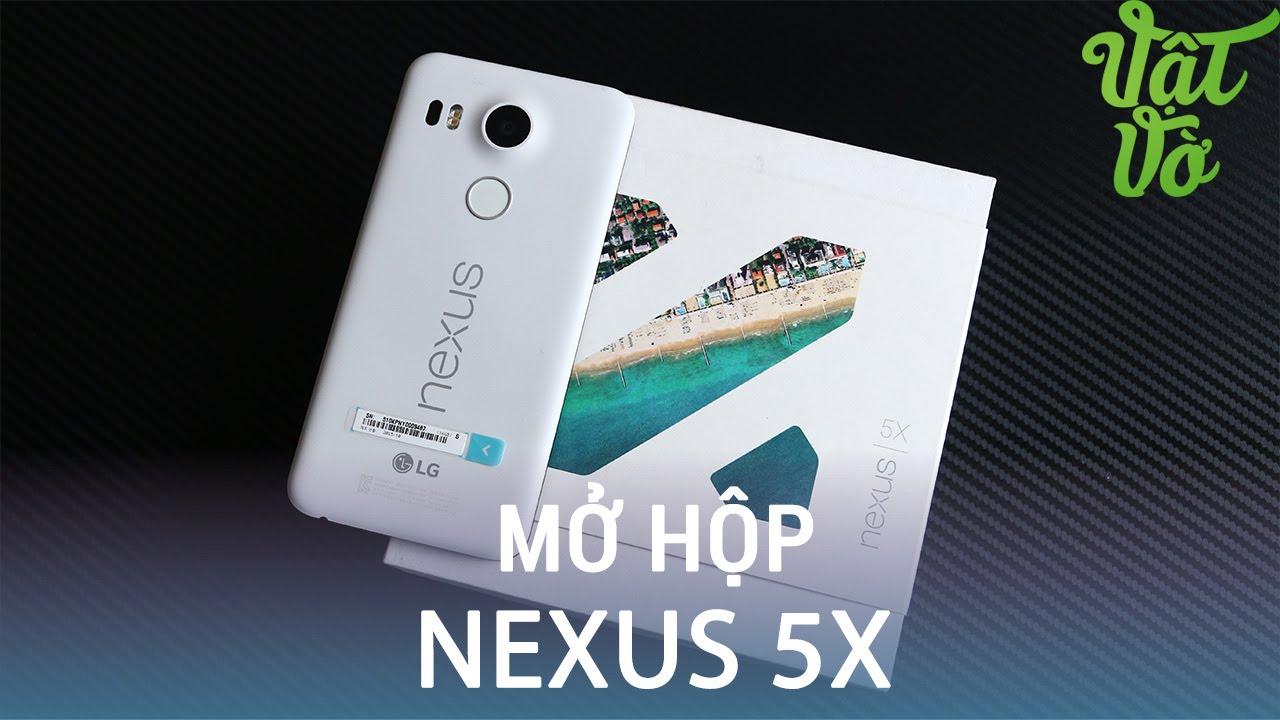 Vật Vờ| Mở hộp & đánh giá nhanh Nexus 5x: tiền thân thiết kế của LG G5