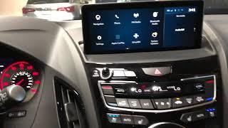 The 2019 Acura RDX ASPEC Black at night DM