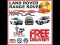 RANGE ROVER CLASSIC,LAND ROVER DEFENDER , FREELANDER WORKSHOP MANUAL