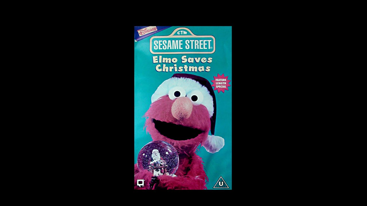 Digitized opening to Sesame Street Elmo Saves Christmas (UK VHS ...