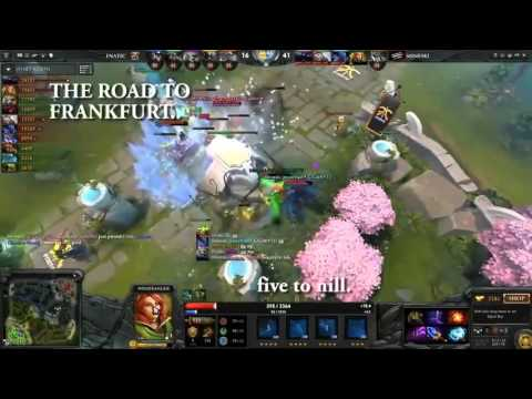 Dota2 Pinoy Commentators At Its Finest! HD!! Cheer Up for Mineski!!