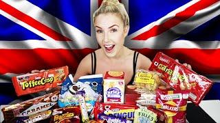 AUSTRALIAN Tries BRITISH Snacks!