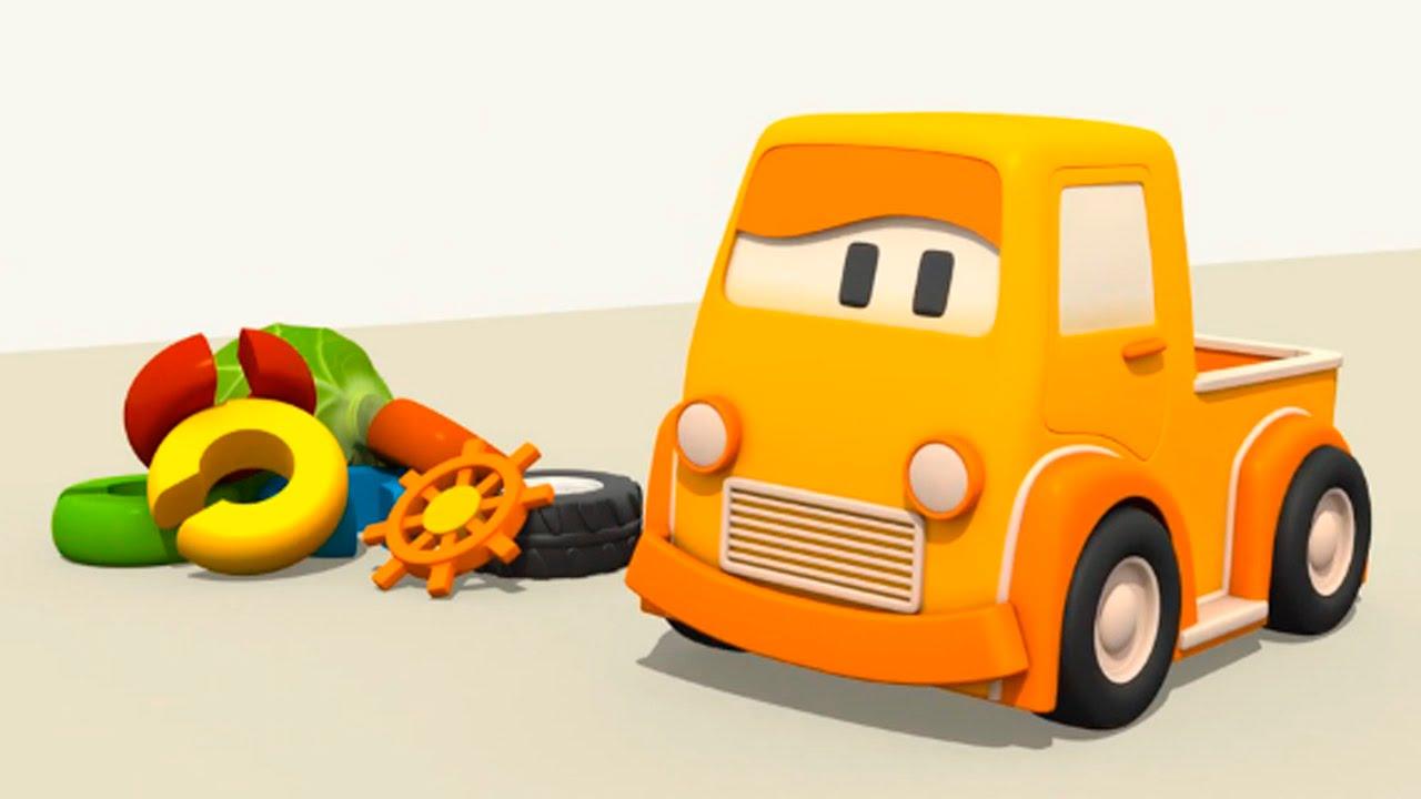 Eğitici çizgi Film Akıllı Arabalar Renkler Oyuncak Tırtıl