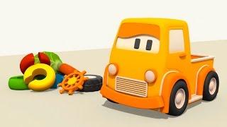 Eğitici çizgi film - Akıllı arabalar - Renkler - Oyuncak tırtıl