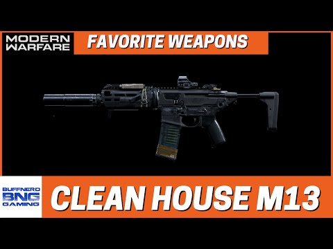 Clean House M13 – Favorite Weapons – Call Of Duty Modern Warfare