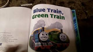 Thomas and his friend blue train and green train