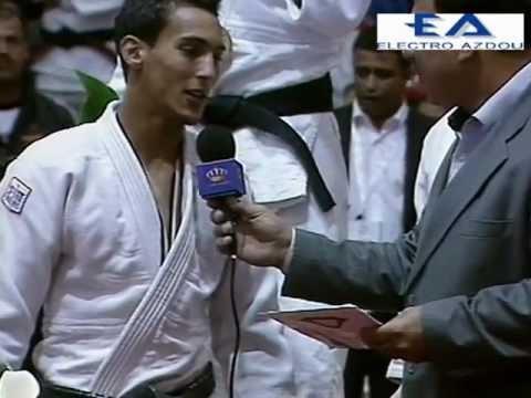 nourdine badi 3 eme senior arab judoka