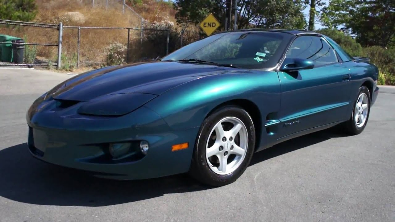 1998 firebird 1 owner mint t top 81k orig for sale youtube 1998 firebird 1 owner mint t top 81k orig for sale