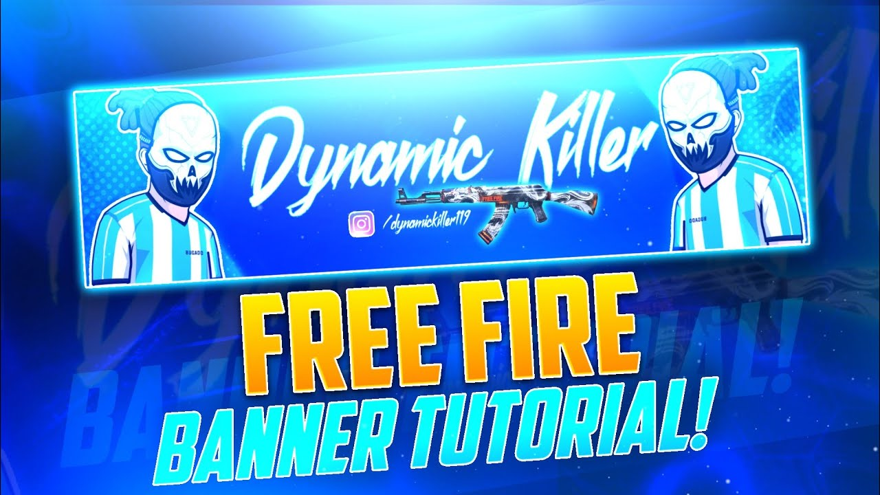 Looking for youtube banner templates and youtube channel art? How To Make Free Fire Banner For Youtube Channel Free Fire Banner Tutorial Youtube