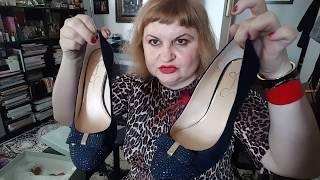 Мои туфли. Part 2. Совет дня.Разбираю туфли и мысли. My shoes.