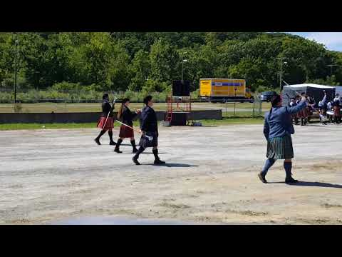 Capital District Scottish Games Professional Drum Majors - 2017