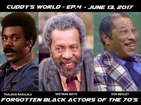"""Cuddy's World - S1E4 - """"Forgotten Black Actors"""""""