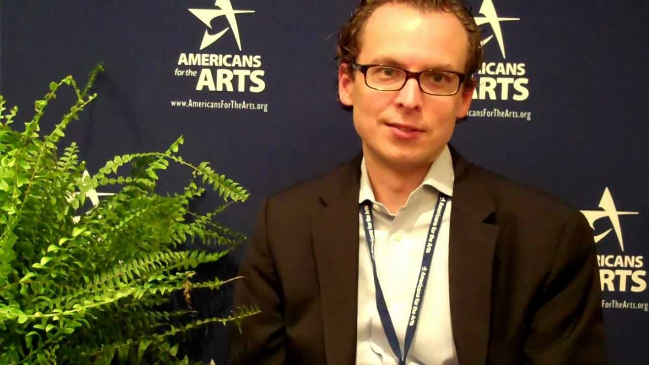 Scott Provancher at National Arts Marketing Project Conference 2012