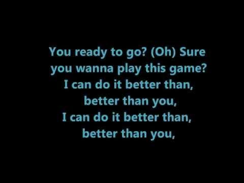 Conor Maynard ft. Rita Ora - Better than you Lyrics