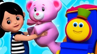 Teddy Bear   Bob The Train   Kindergarten Nursery Rhymes For kids