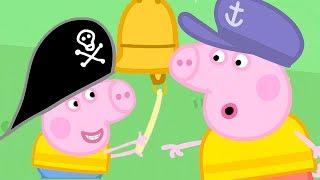 Peppa Pig Świnka Peppa po Polsku   Polly i Wyprawa łódką    Bajki Po Polsku