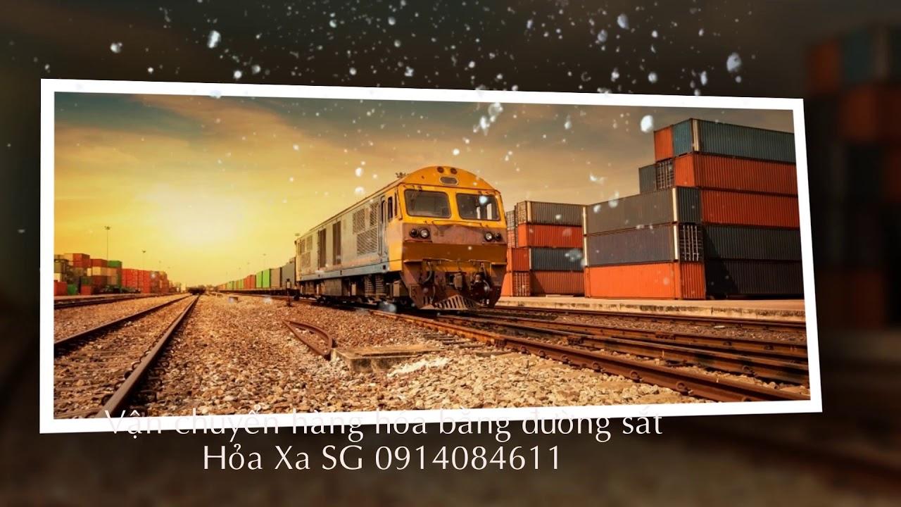Vận chuyển hàng hóa bằng đường sắt 2019
