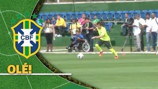 Download Com alegria nas pernas, Bernard tenta drible à la Zidane