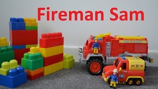 Fireman Sam Episode MEGA Fire Engine HUGE Wall Mega Bloks Feuerwehrmann Sam,