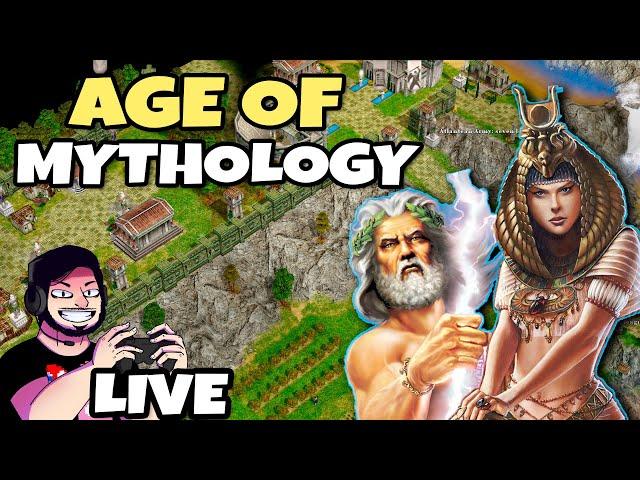 AGE OF MYTHOLOGY! A Série REVIVIDA! Zerando o Jogo