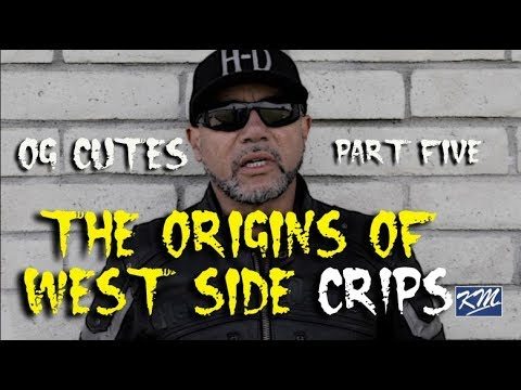 Cutes Magnificent Seven Crips; West Side Crips Origins