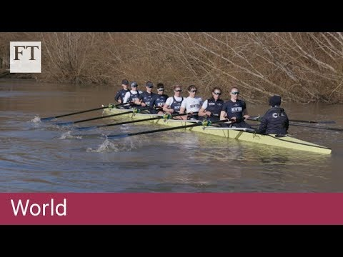 Oxford's women rowers pull together for equality