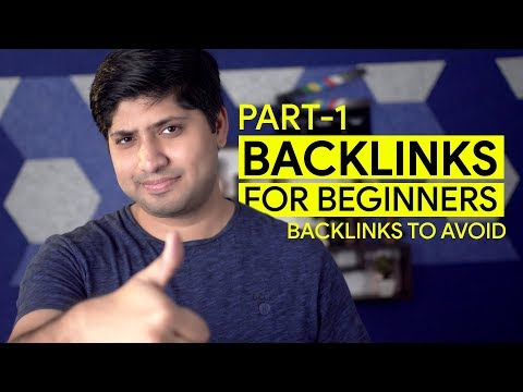 How To Create Backlinks in 2020   Part 1 (In Hindi)