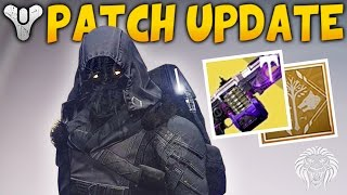 Destiny: HOTFIX UPDATE & IRON BANNER! New Rewards & 2.5.0.1 Patch Notes (Rise of Iron)